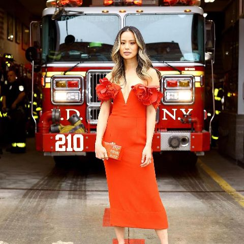 Jamie Chung is living in the United States.