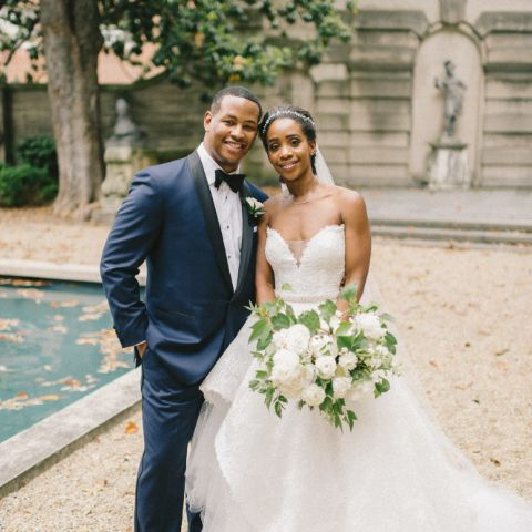 Marcus Richardson married in 2018.