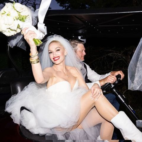 Gwen Stefani and Blake Shelton are married now.