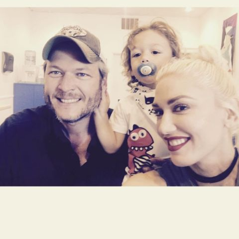 Gwen Stefani and Blake Shelton have a children from another marriage.