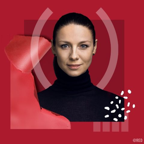 Caitriona Balfe is a beautiful actress.