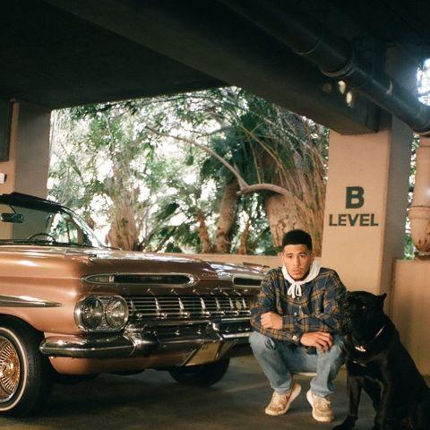 Devin Booker has several classic cars.