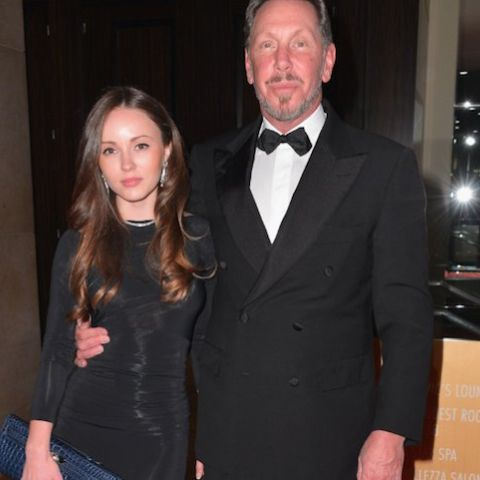 Nikita Kahn and Larry Ellison have been together for a long time.