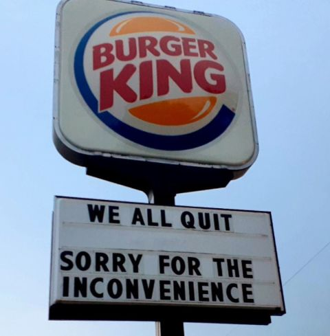 Burger King employees had been working in the kitchen without air conditioning for weeks