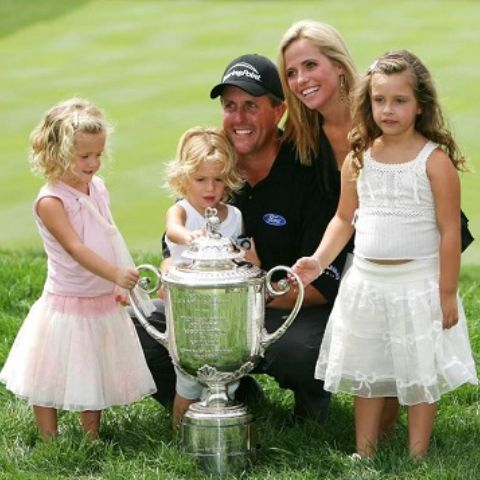 Sophia Isabel Mickelson is the daughter of Phil Mickelson.