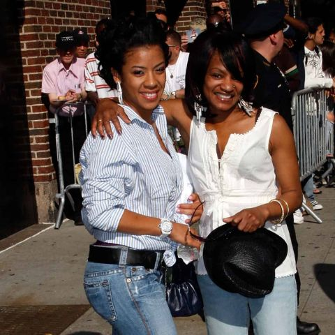 Keyshia Cole was spending time with her mother.