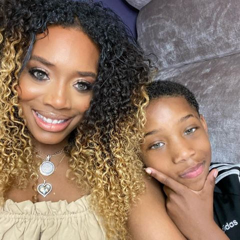 Yandy Smith is mother of two children.