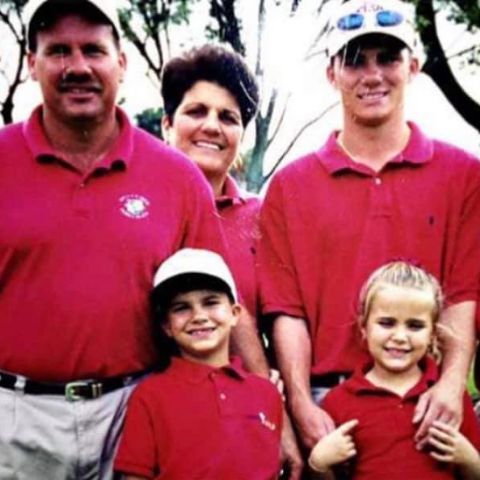 Lexi Thompson is the only one daughter of the family.