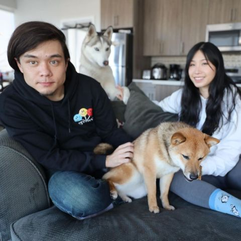 Matt Stonie and Mei are dating each other.