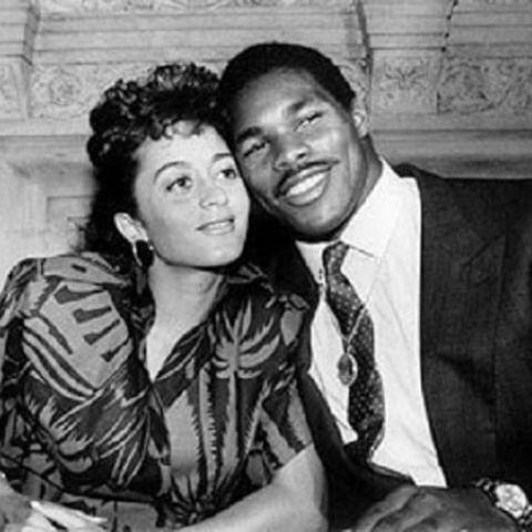Cindy DeAngelis Grossman married her lover, Herschel Walker, on March 31, 1983.