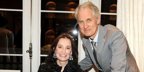Christopher Stokowski with his mother, Gloria Vanderbilt
