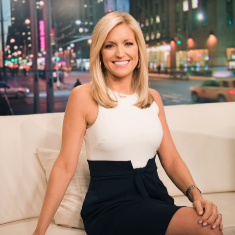 Ainsley Earhardt's three books have also been New York Times best-sellers.