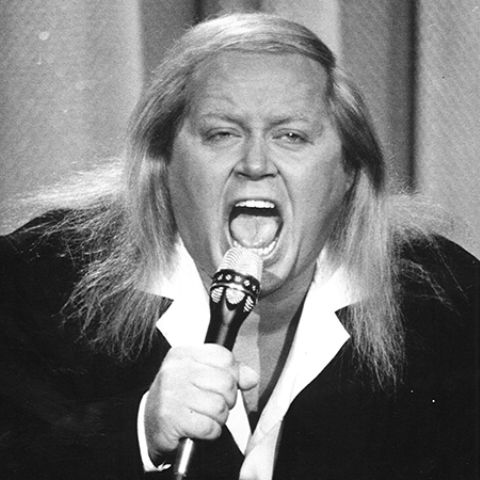 Sam Kinison was also known for having a voracious appetite for drugs and drink.