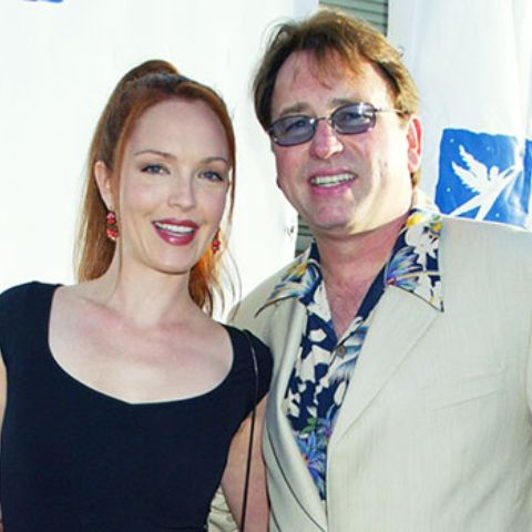 Amy Yasbeck's late husband was misdiagnosed as having a heart attack, the suit alleges.