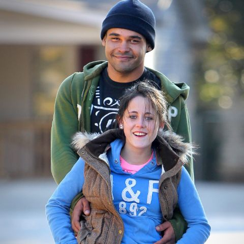 Kieffer Delp, Jenelle Evans' boyfriend in the early seasons of Teen Mom 2.