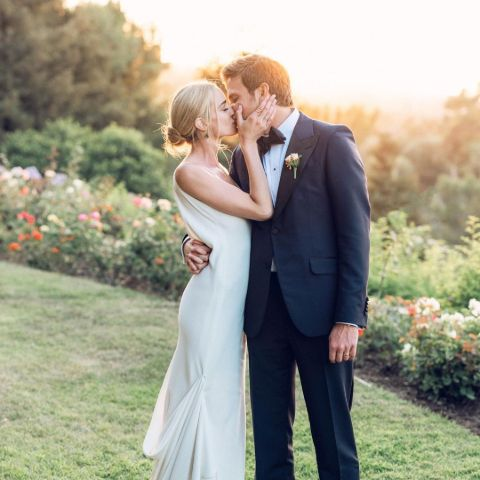 Brianne Howey is a married woman.