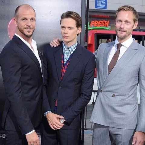 Valter Skarsgard's father  is a well-known Hollywood actor.