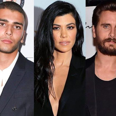 Younes, who previously shaded Kourtney about her sexy Instagram pictures while they were still together, of chasing 'clout'.