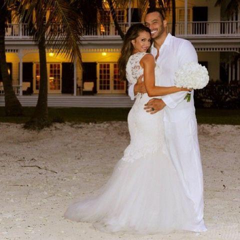 Katrina Campins and Mustafa exchanged wedding vows in May 2013.