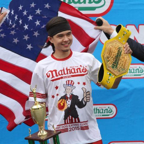 Matt Stonie has established a number of world records in addition to placing highly in major eating events.
