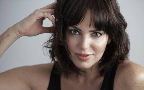 Spanish-American actress Marta Milans