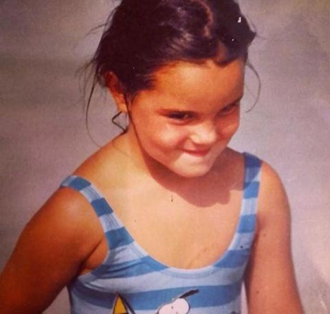Kid Marta Milans photographed.