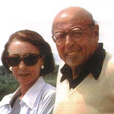 Ahmet Ertegun was a married man.