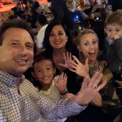 Chris Burrous was a married man.
