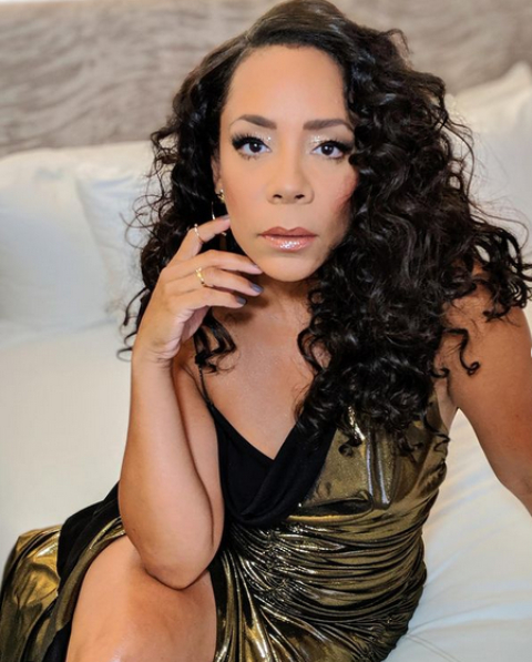 Selenis posing for a picture.