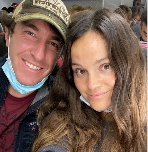Jeff Zausch with his girlfriend.