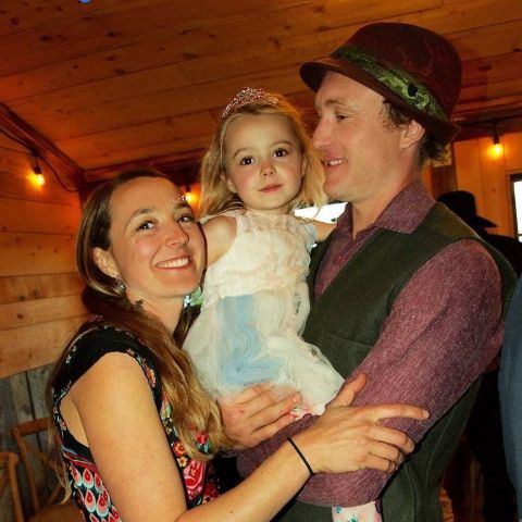 Eve Kilcher and Eivin Kilcher tied the knot in an outdoor wedding ceremony.