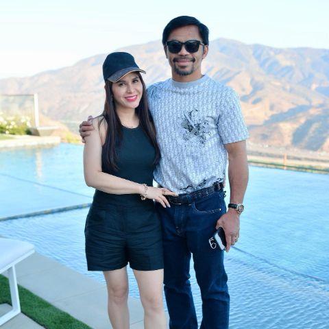 Jinkee Pacquiao is a married woman.
