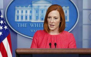 Jen Psaki is an American political consular.
