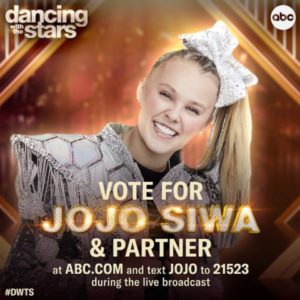 Jojo Siwa was originally approached and inquired if she wanted to be partnered with a man or a woman.
