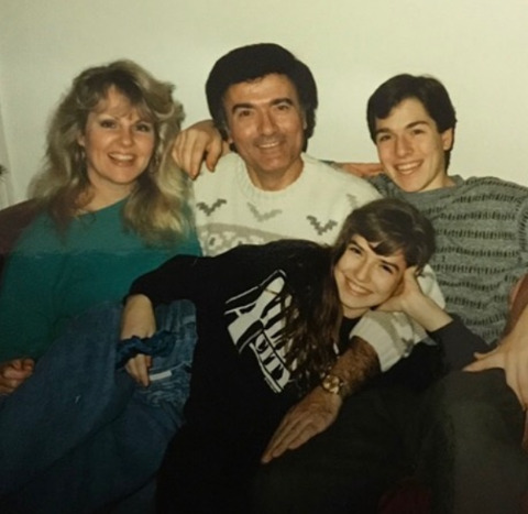 Young Lorene with her family.