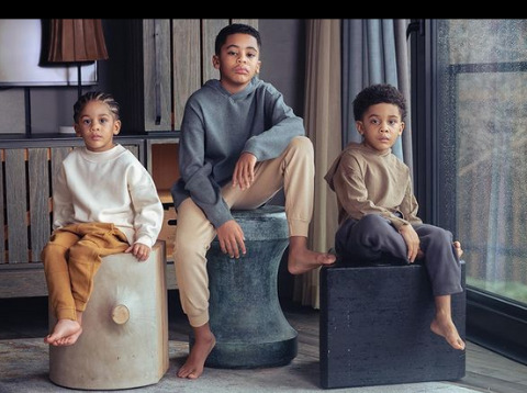 A picture of Khadeen's three sons.