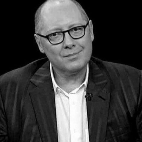 James Spader is living in his house.