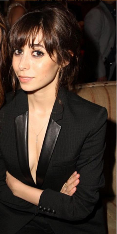 Nina Pedrad clicked at an event.