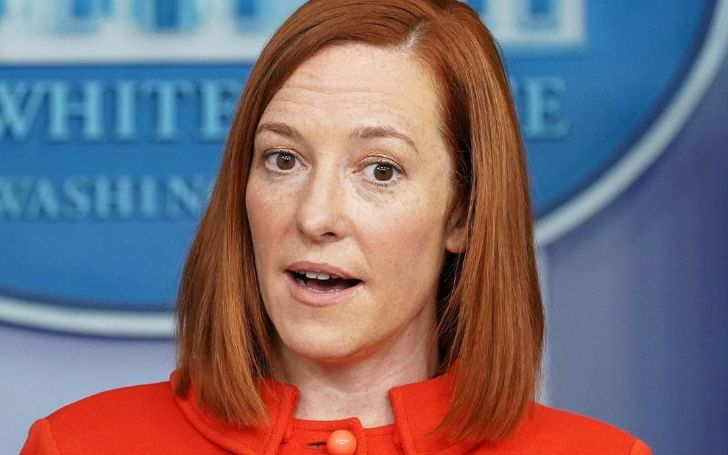 Jen Psaki is an American political advisor serving as the 34th and current White House press secretary.