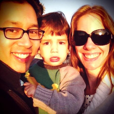 Erica Rivinoja's family picture.