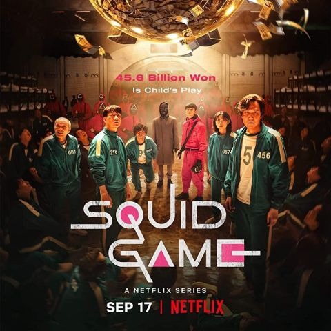 Squid Game is a South Korean survival drama television series streaming on Netflix.