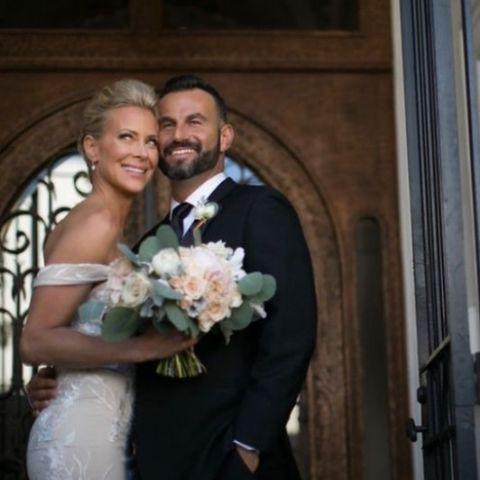 Adam Touni met his wife in a bar in July 2016.
