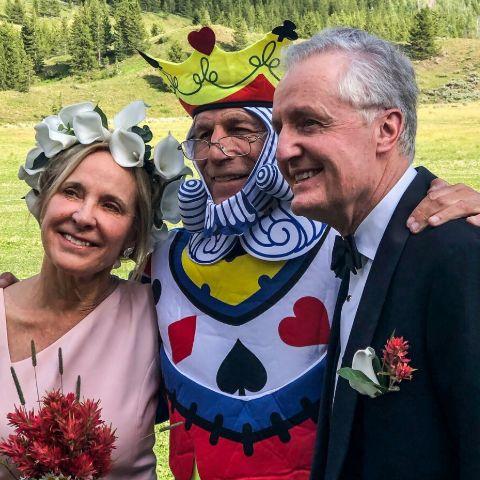 Helen Fisher is a married woman.