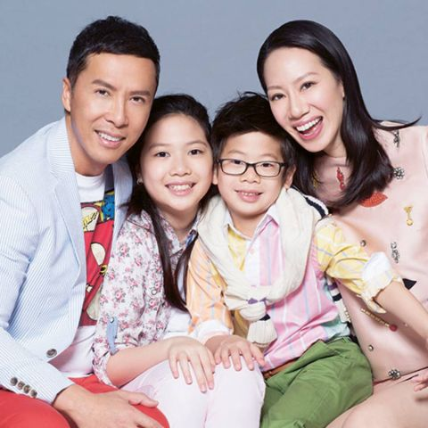 Zing-Ci Leung is a divorcee.